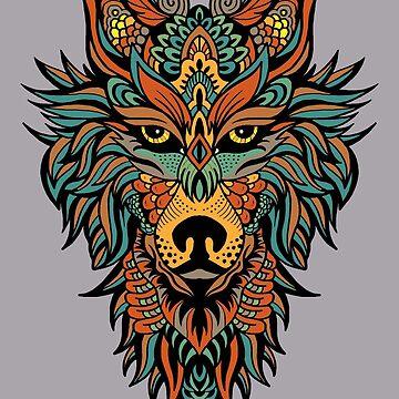 Dark Wolf  by GabrielMoon