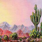 A Desert Scene * by James Lewis Hamilton