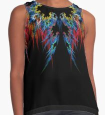 Tattered Contrast Tank