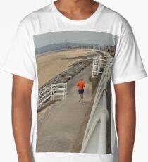 Jog Before Lunch - Aberavon Beach Long T-Shirt
