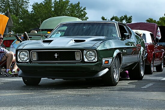 1973 Ford Mustang Mach 1 by mal-photography