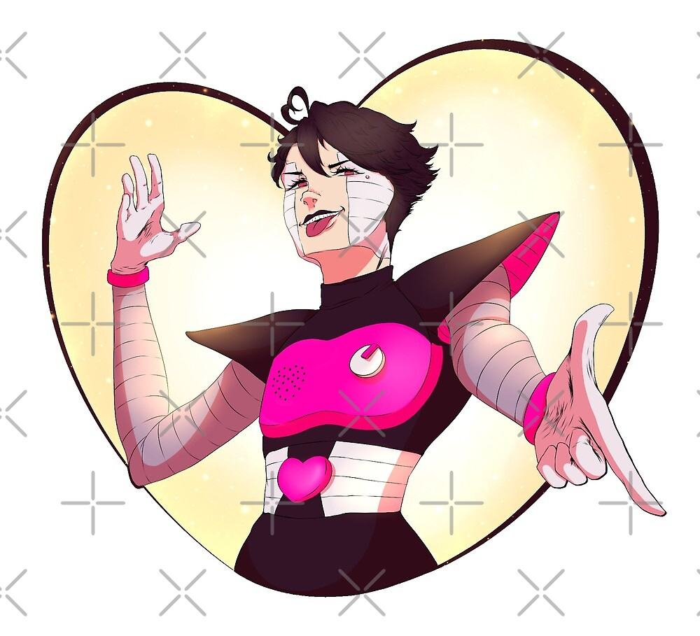 """You're On, Baby!"" - Oikawa Tooru / Mettaton Crossover by SniipSnap"