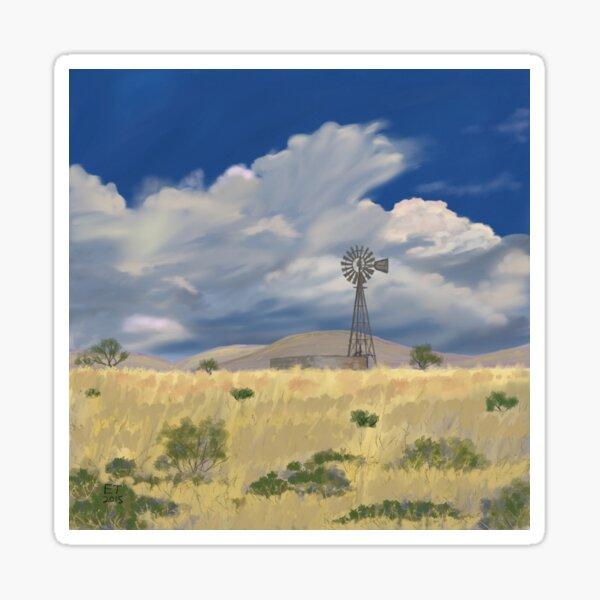 New Mexico Windmill  Sticker