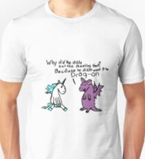 The Dragon and the Unicorn Unisex T-Shirt