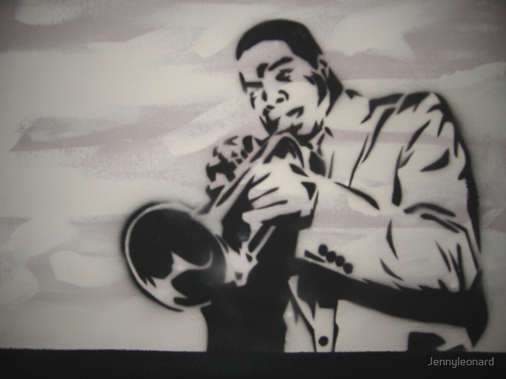 Jazz Player Trumpet by Jennyleonard