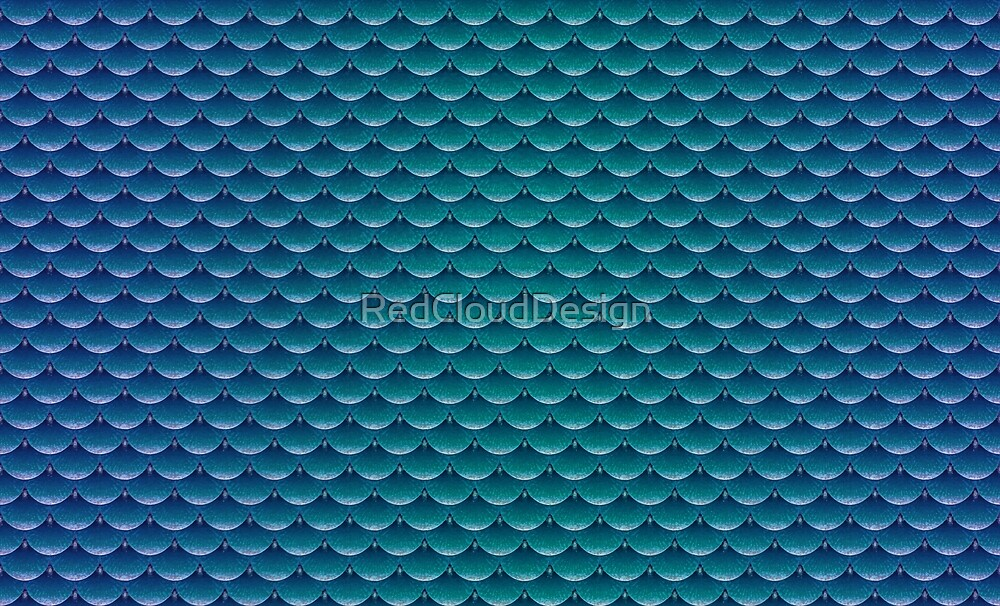 Mermaid scales (colour blend) by RedCloudDesign