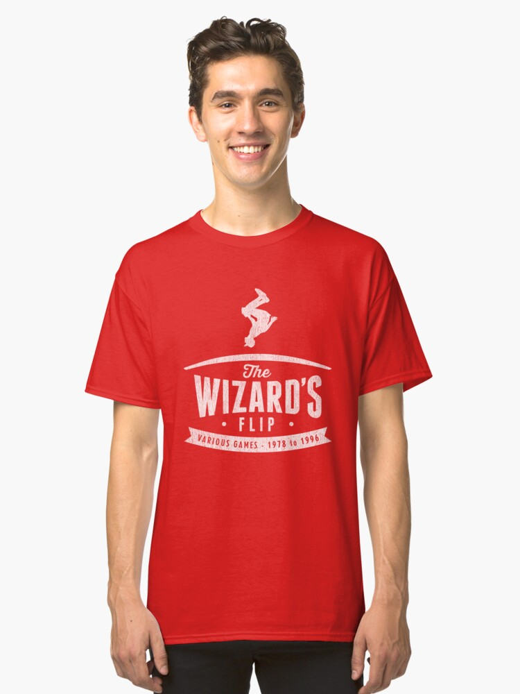 The Wizard's Flip Classic T-Shirt Front