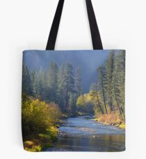 River of Autumn Tote Bag