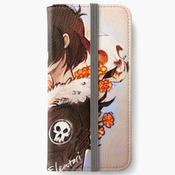 Flowers for the Dead iPhone Wallet