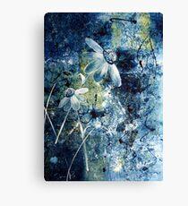 Blue Beauties Canvas Print
