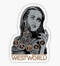 Westworld Dolores Sticker