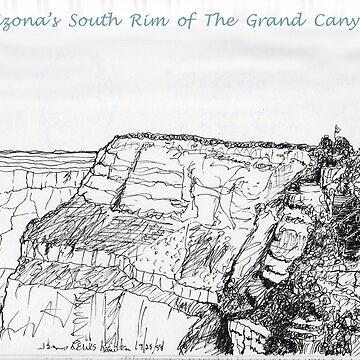 A GRAND Canyon sketch by JamesLHamilton