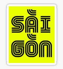 Saigon / HCMC, Vietnam Sticker