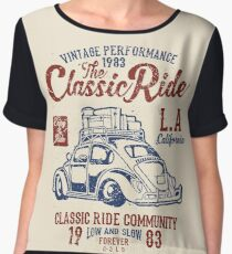 The Classic Ride - 1983 VW - Low And Slow Chiffon Top