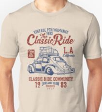 The Classic Ride - 1983 VW - Low And Slow Unisex T-Shirt
