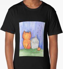 Cat-O-Lantern Long T-Shirt