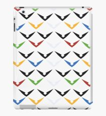 Colorful Wings: Light iPad Case/Skin