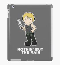 Nothin' But The Rain iPad Case/Skin