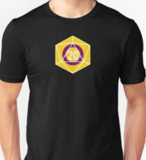 Intersex Pride d20 (version 1) Unisex T-Shirt
