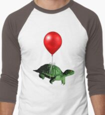 Flying Turtle Men's Baseball ¾ T-Shirt