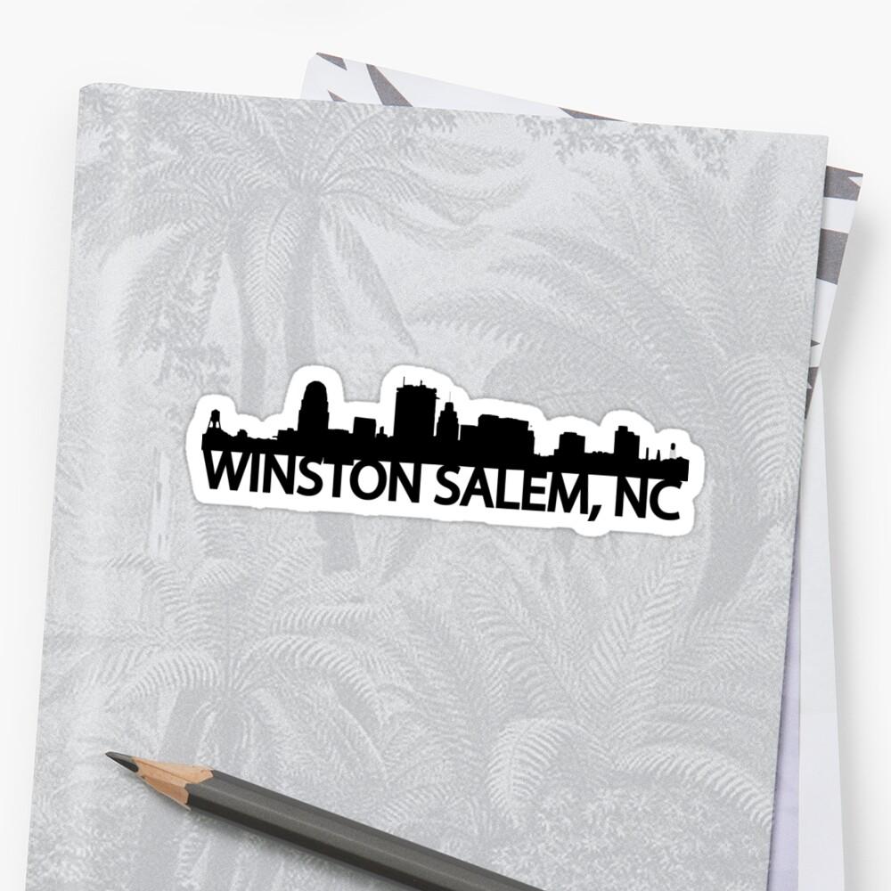 Winston Salem, NC - Skyline by Kjoule