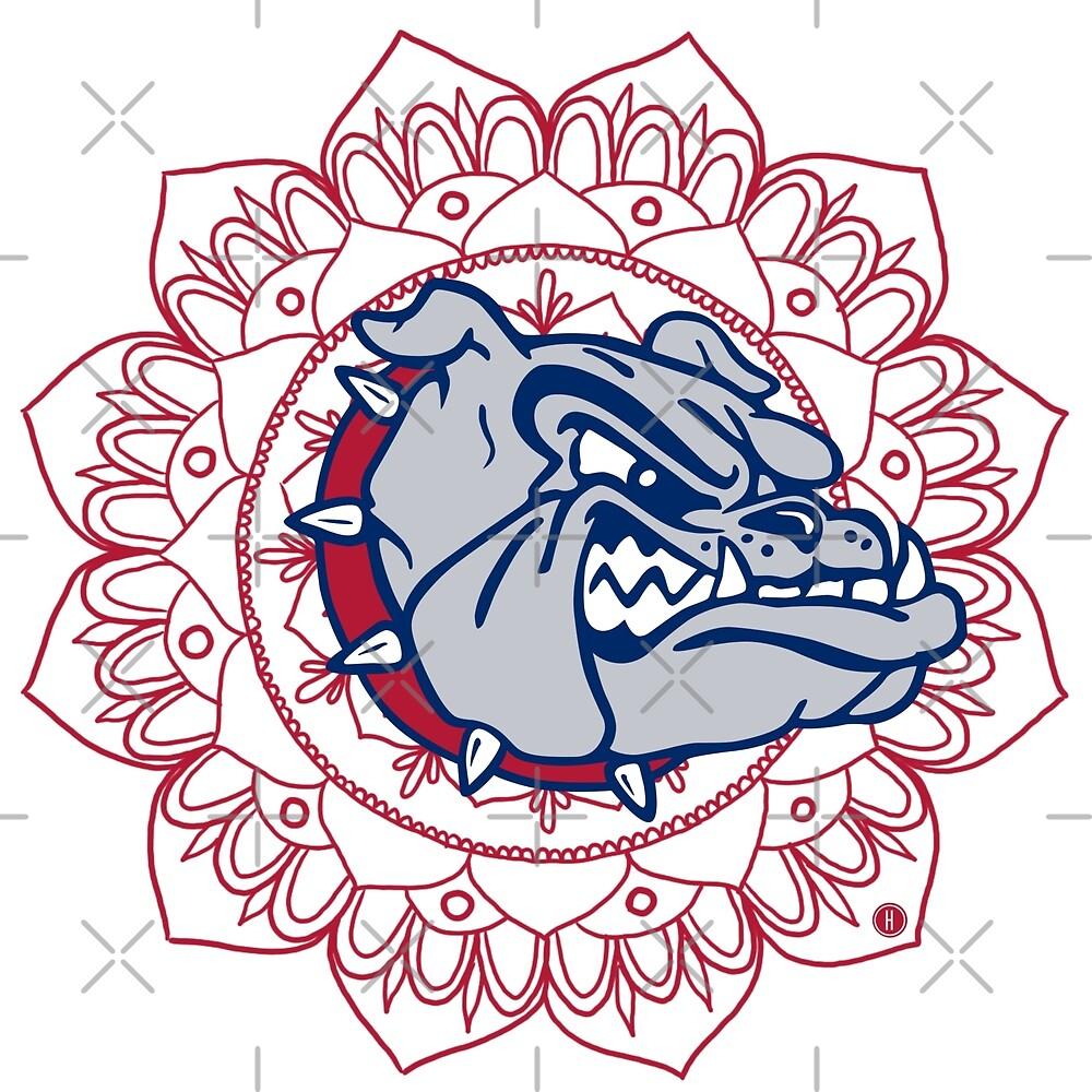 Gonzaga University Bulldogs by Halei Agra