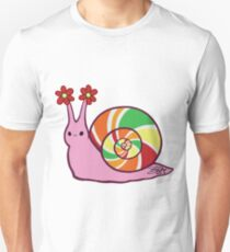 Sweetie Candie Snail Unisex T-Shirt