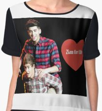 One direction 3 Chiffon Top