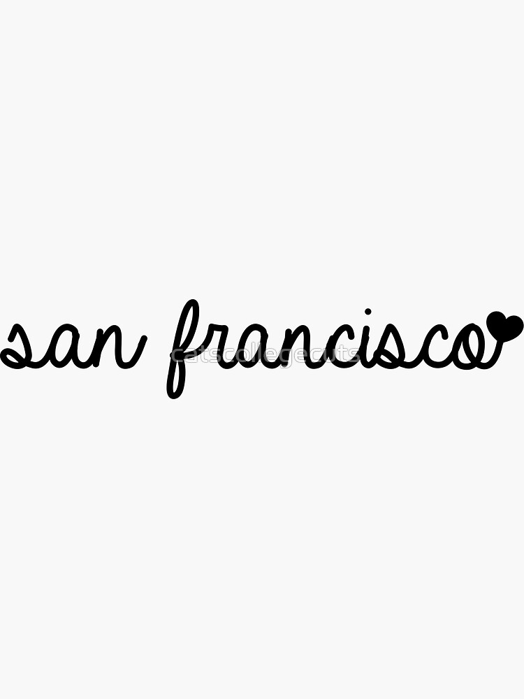 san francisco by catscollegecuts