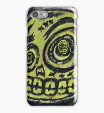 DJ Zombie 001 iPhone Case/Skin