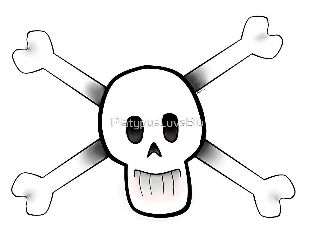 Skull Buddy by PlatypusLuvsBlu