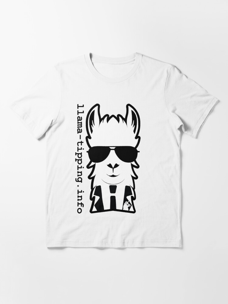 Alternate view of llama-tipping / Defcon 25 / 2017 Essential T-Shirt