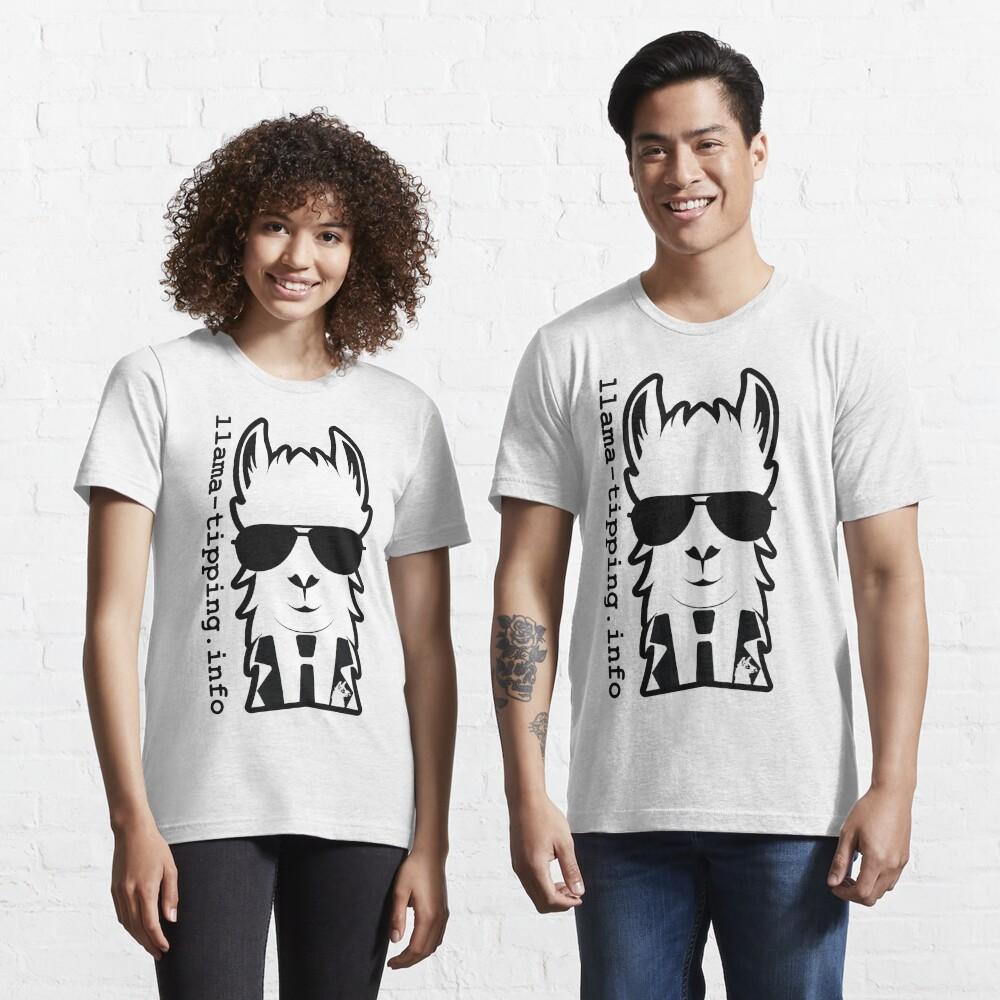 llama-tipping / Defcon 25 / 2017 Essential T-Shirt