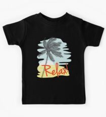Relax! Retro 80s Vacation Style Kids Clothes