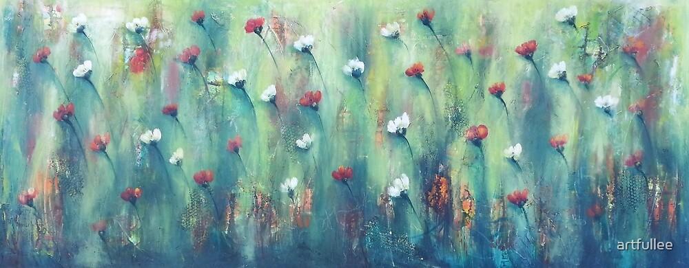 Dancing field of Flowers by artfullee