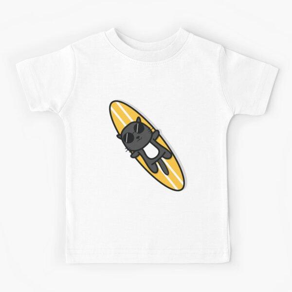 Surfer Cat Kids T-Shirt