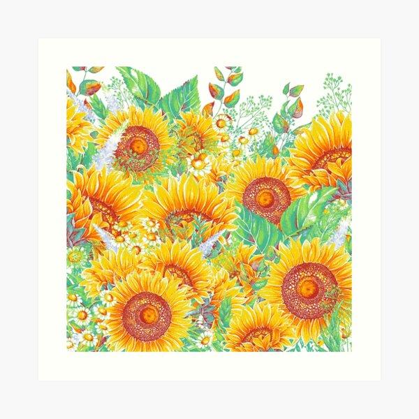 Summer Garden 4 Art Print