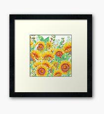 Summer Garden 4 Framed Print