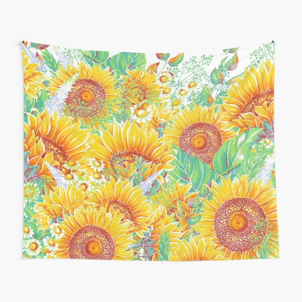Summer Garden 4 Tapestry