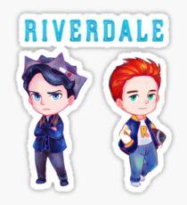 Jughead & Archie - Riverdale Sticker