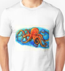 Face Your Fears: Octopus Unisex T-Shirt