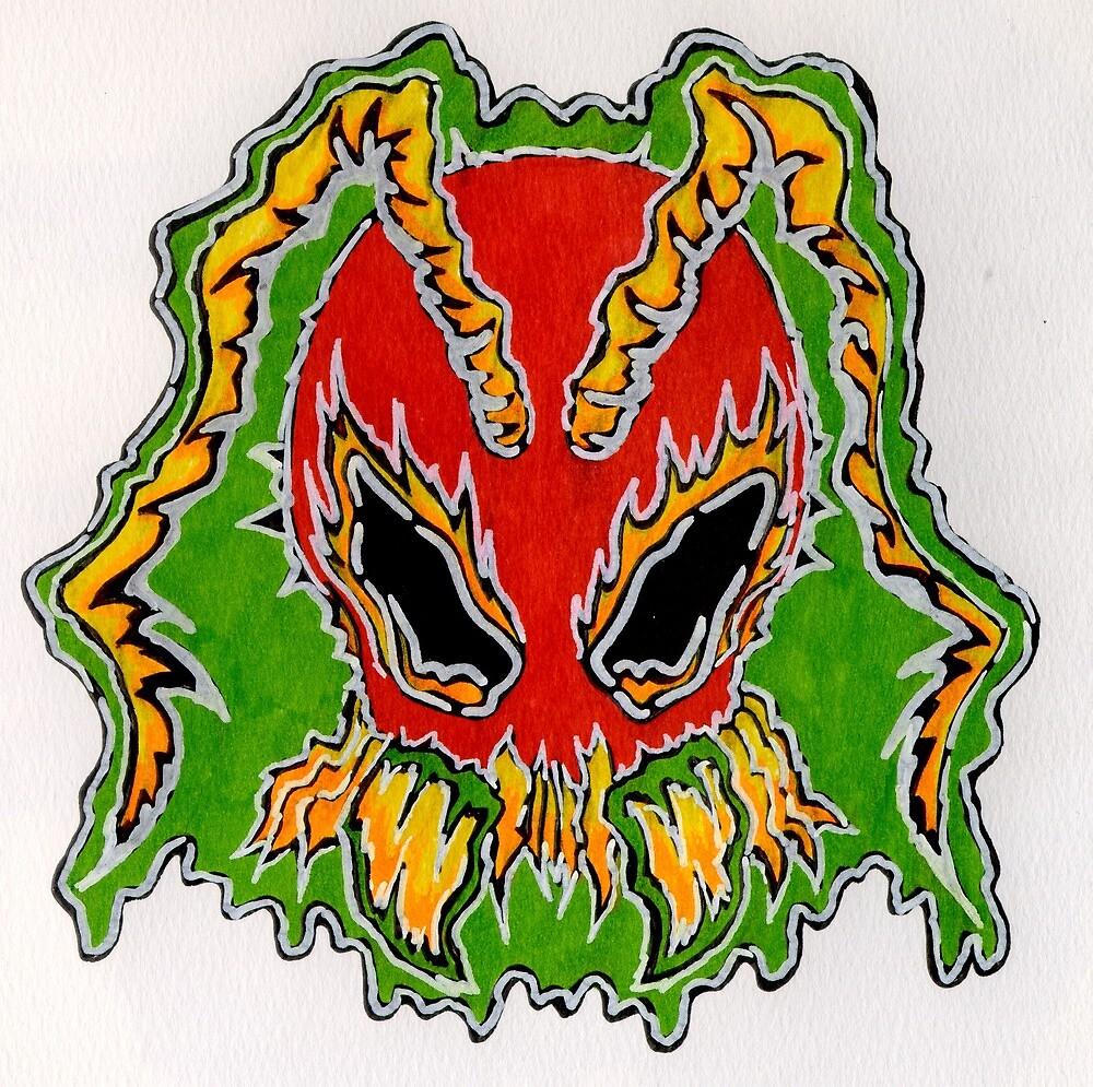 Ant Head 001 by djzombie