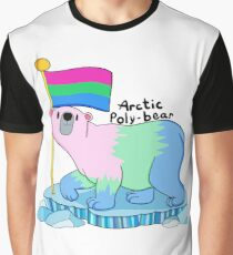 Arctic Poly-bear Graphic T-Shirt
