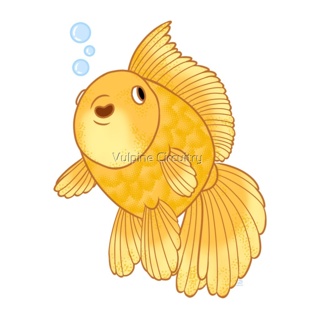Happy Meteor Goldfish by TheFictionFox