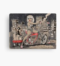 Pedal to the Metal Canvas Print