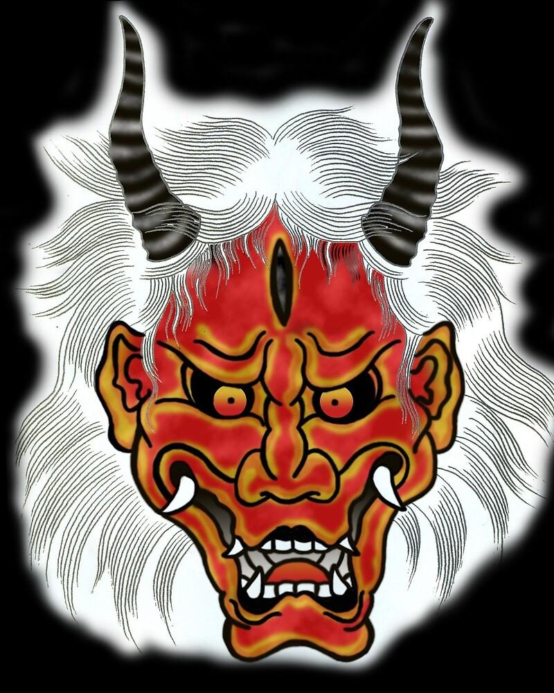 Japan Devil 001 by djzombie