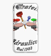Plumbing Brothers since 1983 iPhone Case/Skin