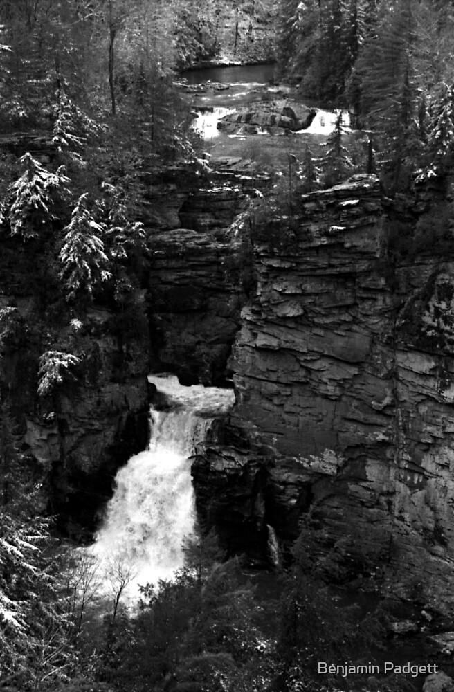 Linville Falls No. 1 by Benjamin Padgett