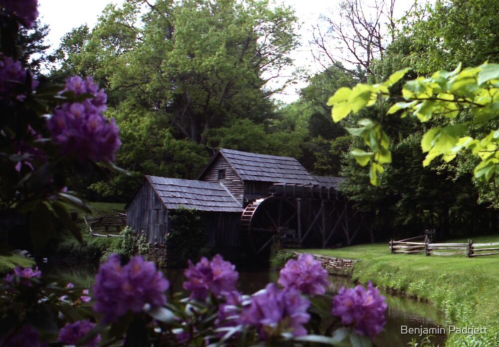 Mabry Mill, Virginia by Benjamin Padgett