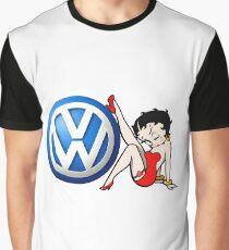 Betty Boop VW Logo Graphic T-Shirt